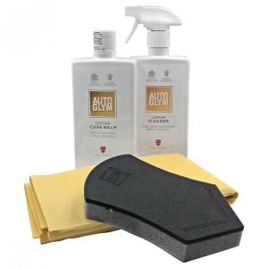 Skinnbehandlingspakke Autoglym Leather Clean & Protect Complete Kit