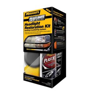 Poleringskit frontlykter Meguiars HD Headlight Restoration Kit
