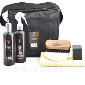Skinnbehandlingspakke Swissvax Leather Care Kit Forte