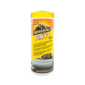 Våtservietter Plast Armor All Vinyl Wipes Blank Finish, 36 stk