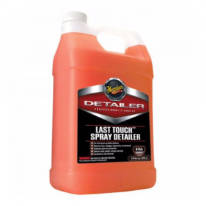 Rengjørende Hurtigvoks Meguiars Last Touch Spray Detailer, 3780 ml