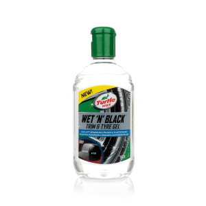 Däckglans Turtle Wax Wet 'N' Black Trim & Tyre Gel, 300 ml