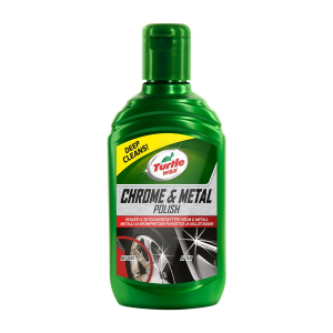 Metallpolermedel Turtle Wax Chrome & Metal Polish, 300 ml