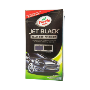 Bilvårdspaket Turtle Wax Color Magic Jet Black Box