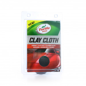 Rengjøringsleire Duk Turtle Wax Clay Cloth