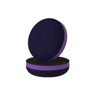 Ullrondell Nanolex Wool Core Polishing Pad Cutting, Blå / Lila (90 mm)