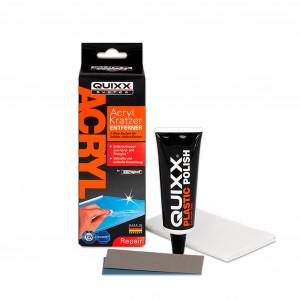 Naarmunkorjaussarja akryylille, QUIXXAcrylic Scratch Remover