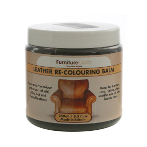 Skinnfargingsmiddel Furniture Clinic Leather Re-Colouring Balm, 250 ml