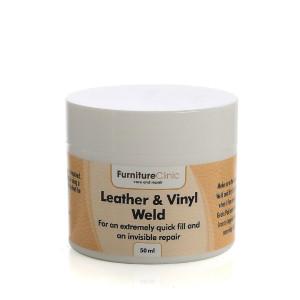 Nahkatäyte Furniture Clinic Leather & Vinyl Weld, 50 ml