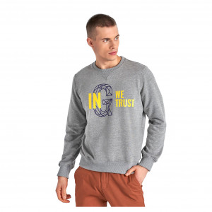 Gyeon Crew Neck Collegepaita, Harmaa