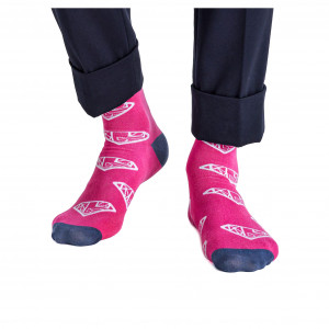 Strumpor Gyeon Socks, Rosa