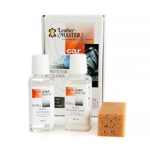 Nahanhoitosetti Leather Master Protection & Cleaner Kit Midi