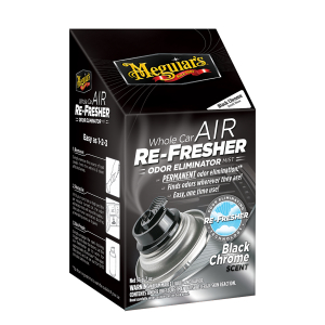 Ilmanraikastin Meguiars Air Re-Fresher, Black Chrome