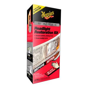 Ajovalojen kiillotussarja Meguiars Headlight Restoration Kit Basic