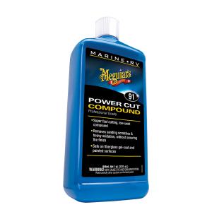 Veneen kiillotusaine Meguiars Marine Power Cut Compound, 946 ml