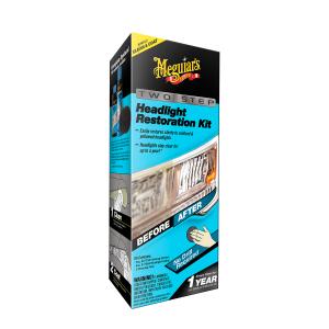 Ajovalojen kiillotussarja Meguiars Perfect Clarity Headlight Restoration Kit