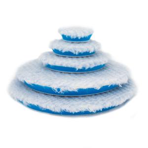 Poleringspute Rupes Polishing Wool Pad, Blå - DA Oscillerende