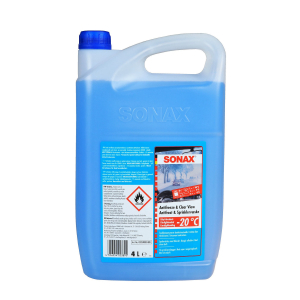 Lasinpesuneste SONAX Antifreeze & Clear View -20°C, 4000 ml