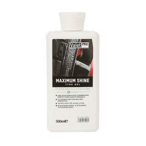 Rengaskiilloke ValetPRO Maximum Shine, 500 ml