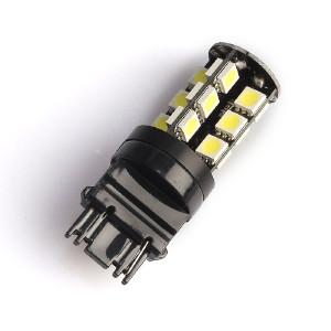 LED-polttimo Purelux T25-lasikanta (P27W) 27 LED, 486 lm (2 kpl)