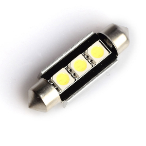 Spollampa 3 LED (39 mm), 120 lm (2 st)