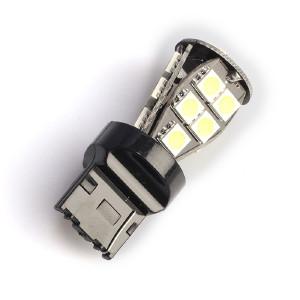 LED-polttimo Purelux T20-lasikanta (W21W) 18 LED, 324 lm (2 kpl)