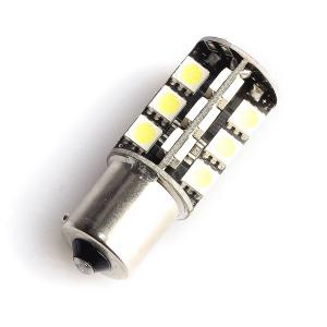 LED-polttimo Purelux BAU15S (PY21W) 27 LED, 486 lm (2 kpl)