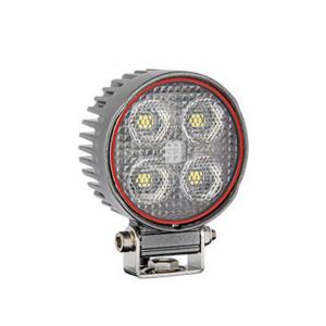 LED-arbeidslys Bullboy 24W / Rund / Bred