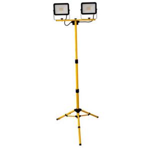 LED-työmaavalaisin, 230V, 2 x 30W