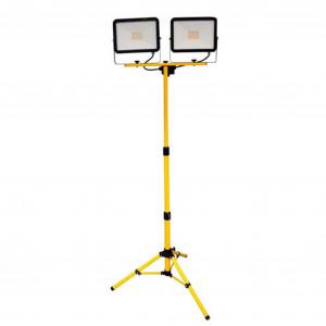 LED-työmaavalaisin, 230V, 2 x 50W