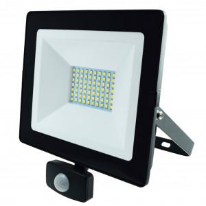 LED-arbeidslys 230V, 50W, med bevegelsessensor