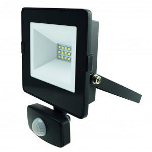 LED-arbeidslys 230V, 10W, med bevegelsessensor