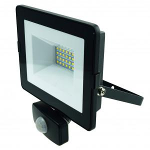 LED-arbeidslys 230V, 20W, med bevegelsessensor