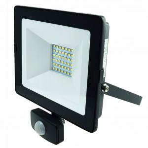 LED-arbeidslys 230V, 30W, med bevegelsessensor