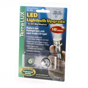 LED-oppgrad. Mini Maglite 2xAA, 150 lm