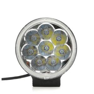 LED-Extraljus Purelux Road 524 - Runda / 13 cm / 24W