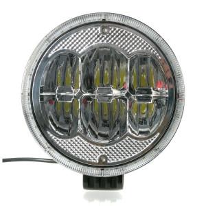 LED-Extraljus Purelux Road 960 - Runda / 23 cm / 60W