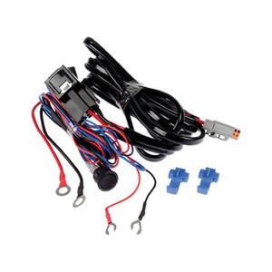 Reläkabelsats HD 12V LED-ramp DTP-kontakt (för 1st lampa)