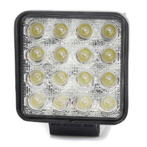 LED-arbeidslys Purelux Terrain 48W, Bred