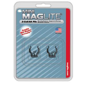 Maglite AA ym. seinäkiinnikepari