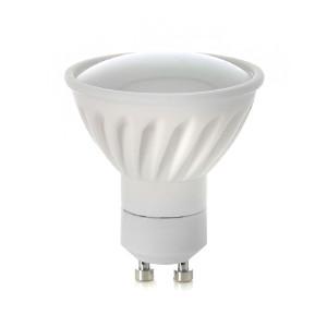GU10 LED-Polttimo, Naturlight, 6W, Lämmin, Leveä