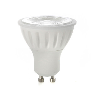 GU10 LED-lampa, Naturlight, 6W, Varmvit, Smal