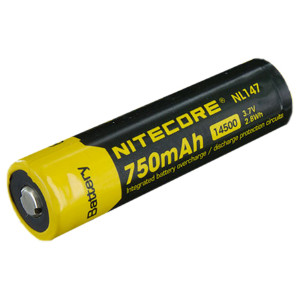14500-batteri Nitecore, 850 mAh