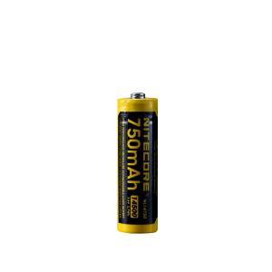 14500-batteri Nitecore, Micro-USB-laddbart, 750 mAh