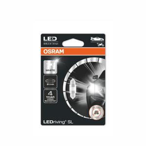 Putkipoltin Osram LedDriving SL, 6000K, 31 mm