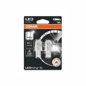 LED-poltinpari Osram LedDriving SL, 6000K, W16W