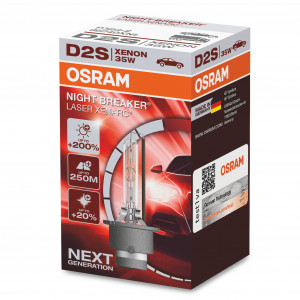 Xenon-poltin Osram Xenarc Night Breaker Laser 200%, D2S
