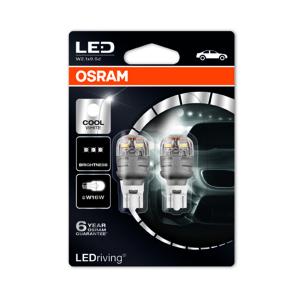 LED-poltinpari Osram PREMIUM, 6000K, W16W