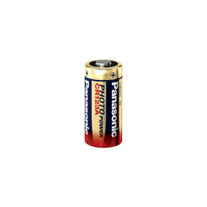CR123A-batteri Panasonic 3.0V, 1500 mAh