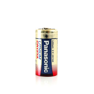 CR123A-paristo Panasonic 3.0V, 1500 mAh